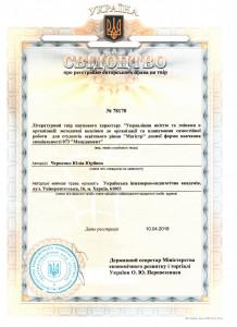Черненко Ю.Ю. Управління змінами