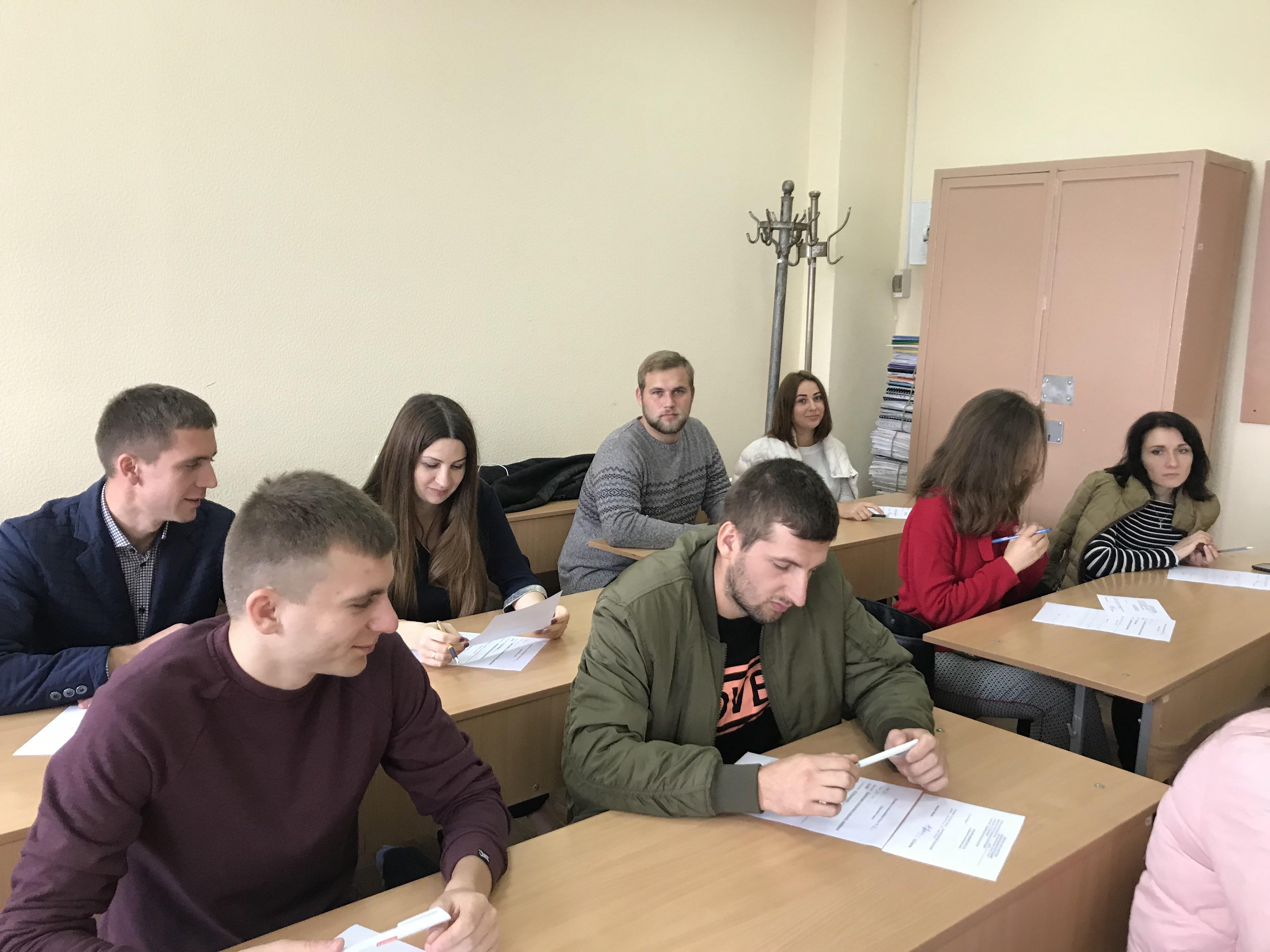 Державний іспит студентів. 2018 рік
