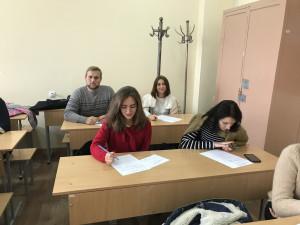 Державний іспит студентів - магістрантів групи ДКІ-І17 мг. 2018 рік