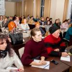 Ведуча В.М. Тіманюк. Сесія щодо захисту прав інтелектуальної власності для представників громадських організацій. 14 грудня 2018 року